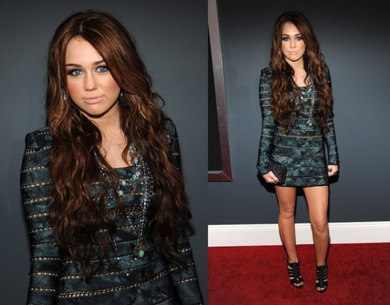 Miley Cyrus at 2010 Grammy Awards 2010-01-31 18:10:54
