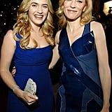 With Cate Blanchett