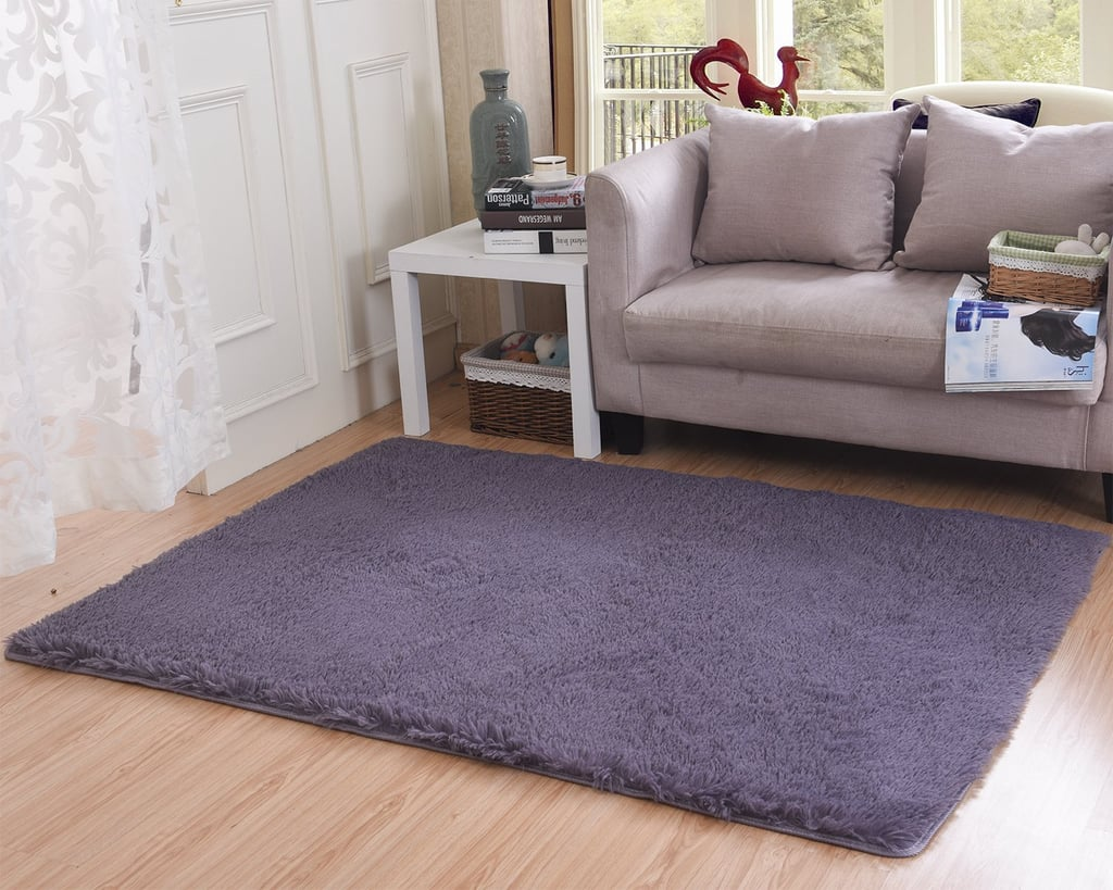 Thick, Shaggy Area Rug