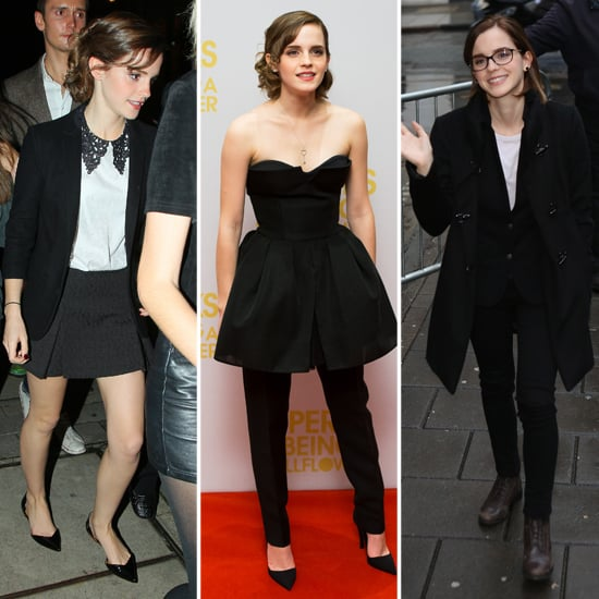 Emma Watson Is No Wallflower When it Comes to Perky Promo Style