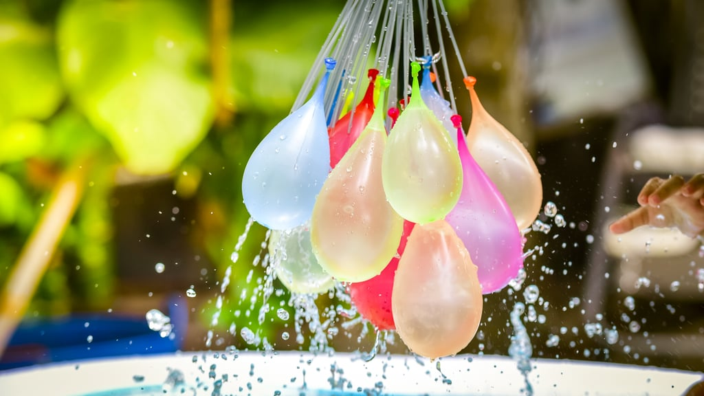 Have a water balloon fight.