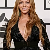 """Long strands like Beyoncé's just need a slight wave to give off """"naughty mermaid"""" vibes."""
