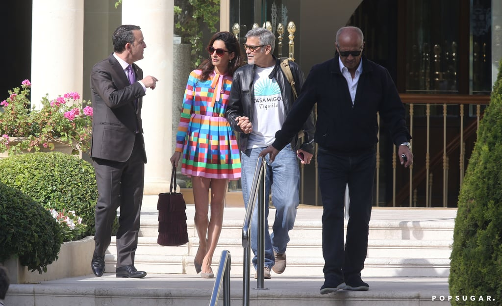 Amal Clooney Wearing a Valentino Dress in Cannes 2016