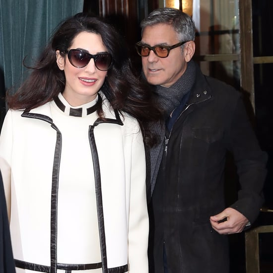 George and Amal Clooney Out in Paris February 2017
