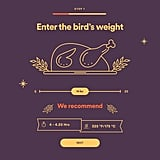 Simply Enter the Bird's Weight, and Spotify Will Even Give You Cooking Recommendations