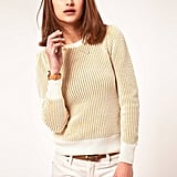Add a flash of metallic to your look with this subtly sparkly sweater. Perfect for taking a look day to night.  AWear Metallic Sweater ($63)