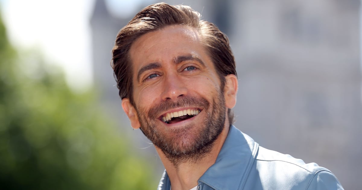 Jake Gyllenhaal Is All Smiles During a Spider-Man: Far From Home Press Trip in London