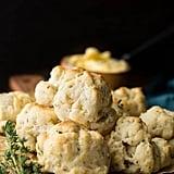 Herby Vegan Biscuits