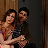 Girl Most Likely  Who's starring: Kristen Wiig, Annette Bening, Matt Dillon, and Darren Criss Why we're interested: When Imogene (Wiig) is forced to live with her kooky mom (Bening) after a meltdown, we get to see Wiig's dark, deadpan comedy alongside Bening's more over-the-top humor. When it opens: July 19 Watch the trailer for Girl Most Likely.