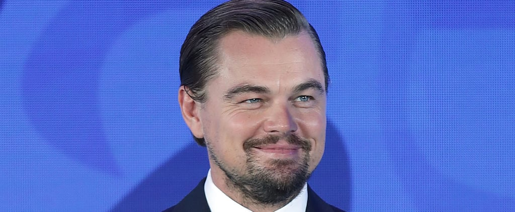 Leonardo DiCaprio Lends His Gorgeous Face to a Cause Close to His Heart