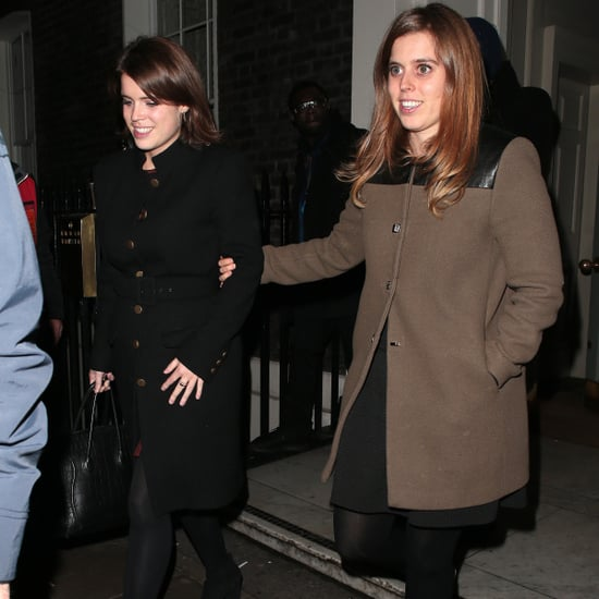 Princess Beatrice's Embroidered Sneakers