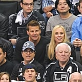 Celebrities at LA Kings Game Pictures