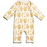 Winter Water Factory Yellow Cactus Romper