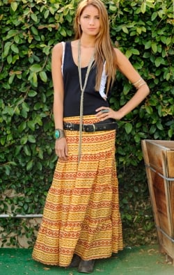 The Almost Famous Skirt - BOTTOMS ($154)