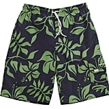 Snapper Rock's Kelly Surfer Board Shorts  ($44) feature a Hawaiian floral print and an oversize pocket.