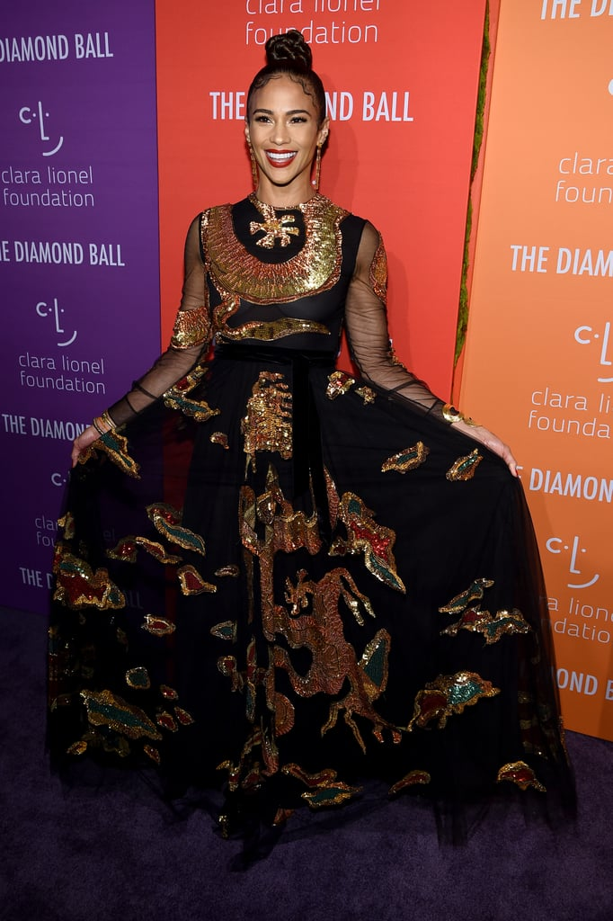 Paula Patton at the 2019 Diamond Ball