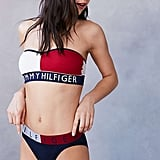 Tommy Hilfiger Seamless Bandeau Bralette ($28) and Logo Panties ($20)