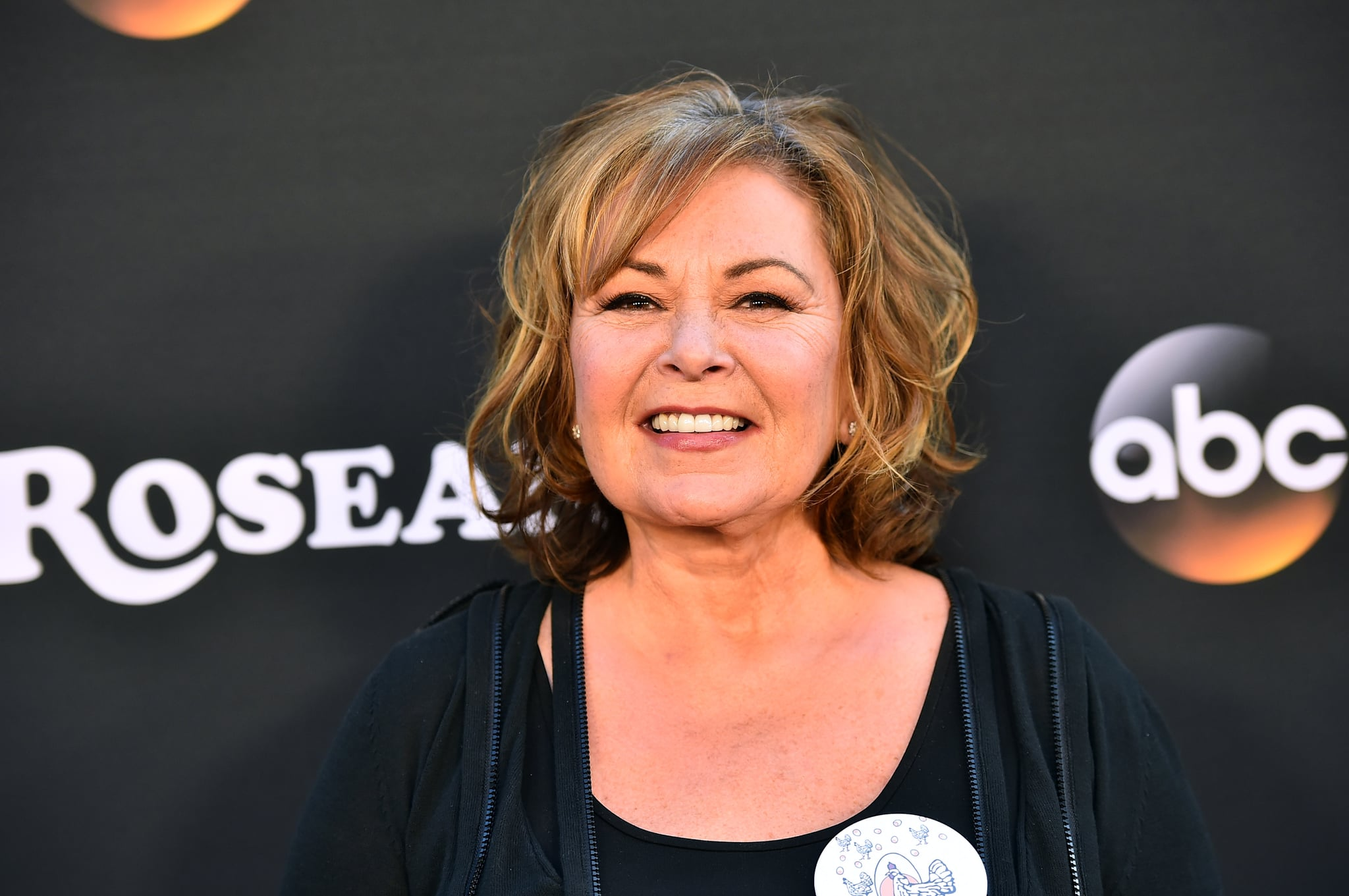 BURBANK, CA - MARCH 23:  Roseanne Barr attends the premiere of ABC's