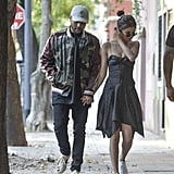 Selena Gomez Wore a Black Isabel Marant Dress While Out With The Weeknd in Buenos Aires, Argentina