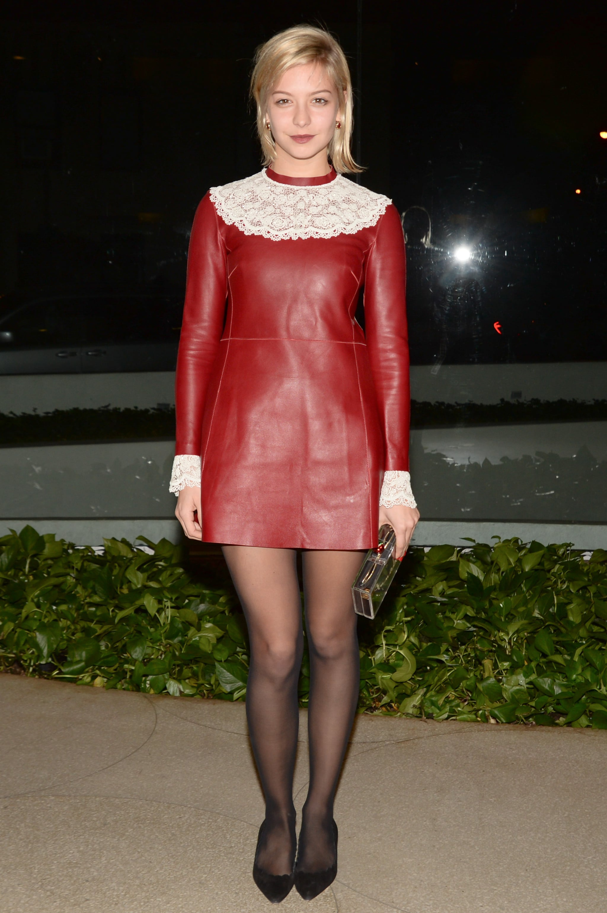 Annabelle Dexter-Jones at the Zadig & Voltaire celebration for Christopher Wool.