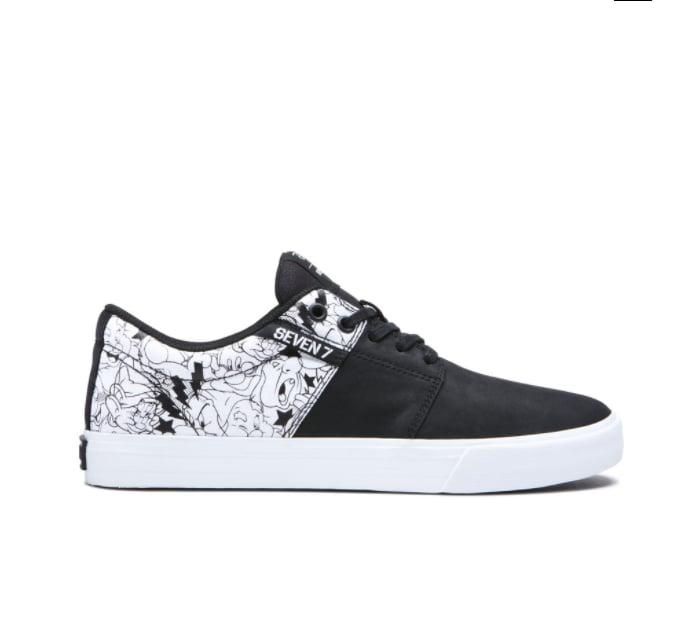 Supra's Stacks II Vulc Sneaker in All 7