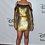 Kerry Washington went for gold Jenny Packham at the TCA Winter Press Tour in January in Pasadena.