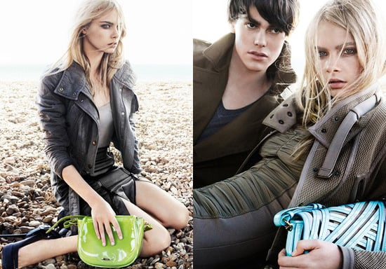 Burberry Hit Brighton Beach for the Spring 2011 Ad Campaign Starring Cara Delevigne