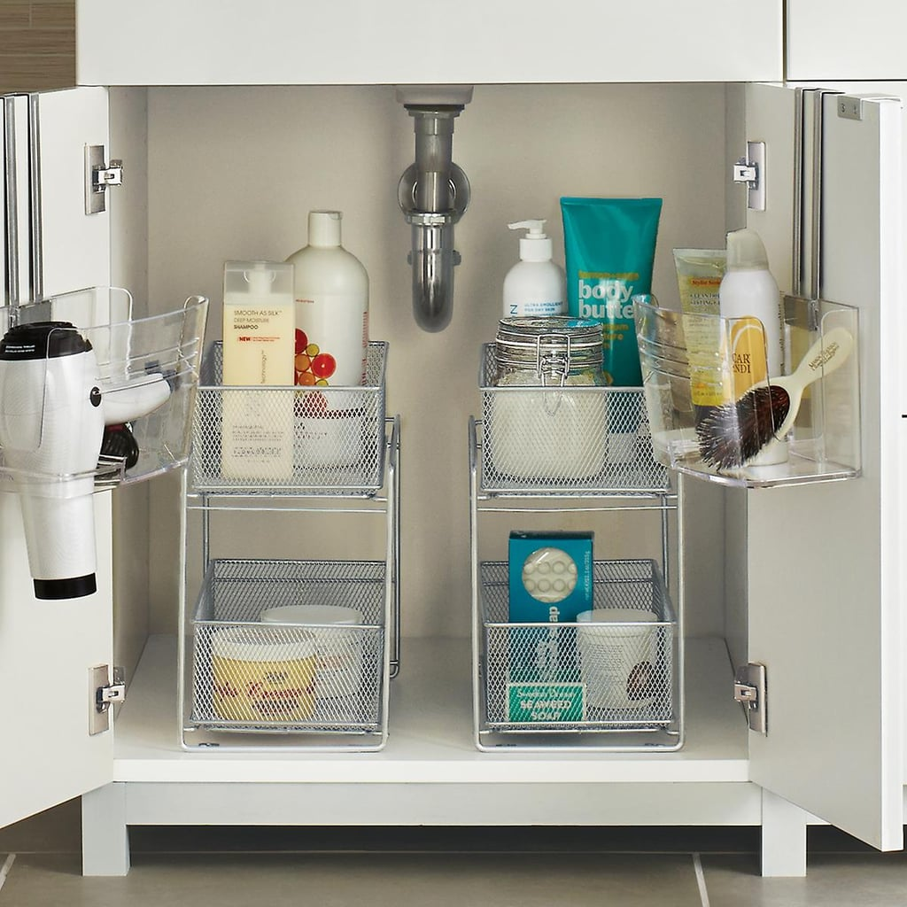 A Place For Large Products: The Container Store 2-Drawer Mesh Organizer
