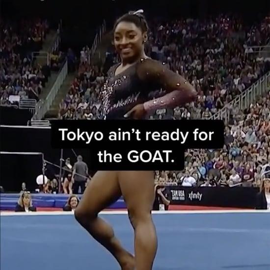 Simone Biles Team USA TikTok For the Tokyo Olympics