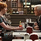 Joan Harris and Roger Sterling