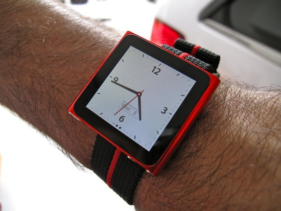iPod Nano Watch Strap: Totally Geeky or Geek Chic?