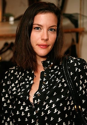 Liv Tyler Wears a Blouse With Birds on It