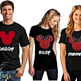 Matching Family Disney Glitter Shirts