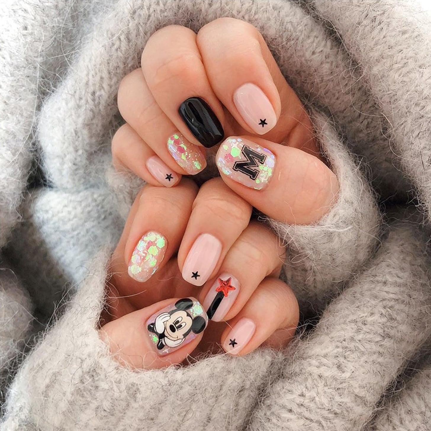 Disney Nail Art Ideas Popsugar Beauty