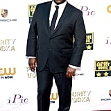 The director of 12 Years a Slave, Steve McQueen, arrived for his big night.