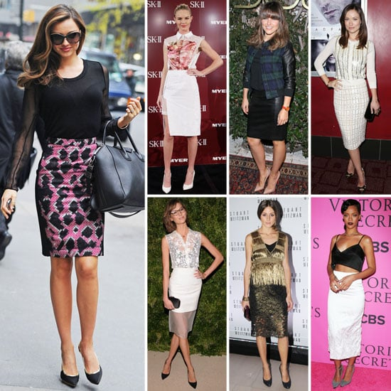Miranda Kerr in a Pencil Skirt (Pictures)