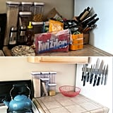 Kitchen: Before and After