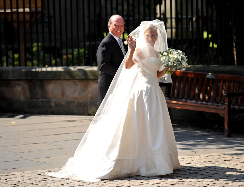Zara Wore a Custom Stewart Parvin Gown on Her Wedding Day in 2011