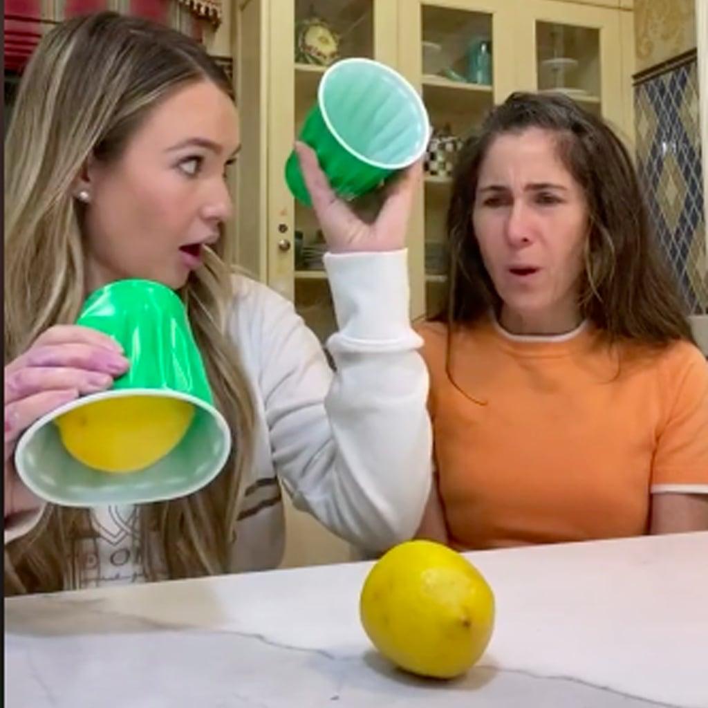 TikTok User Pranks Mom With Lemon Magic Trick | Video