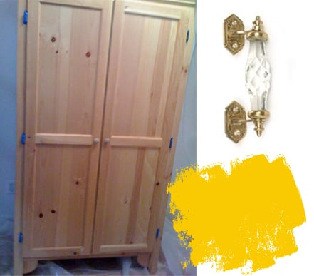 Before and After: Van Gogh Armoire