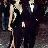Elizabeth Hurley Wore a Similar Versace Look Back in 1994