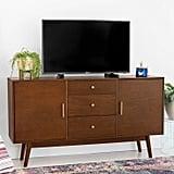 Midcentury Modern Wood TV Console