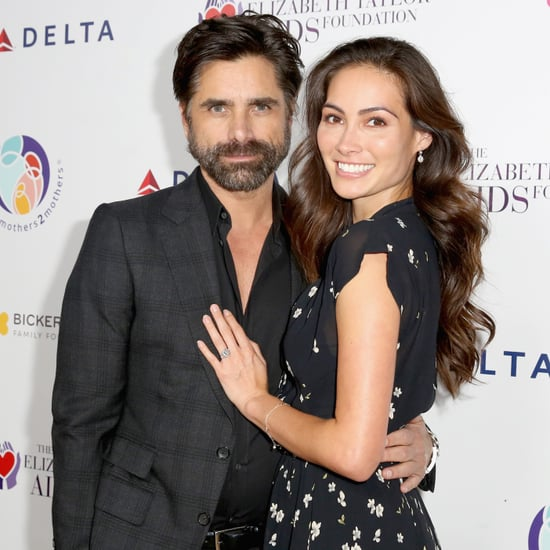 Expectant Parents John Stamos and Caitlin McHugh Are All Smiles in LA