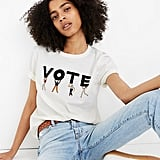 Madewell Vote Graphic Tomboy TeeArtboard