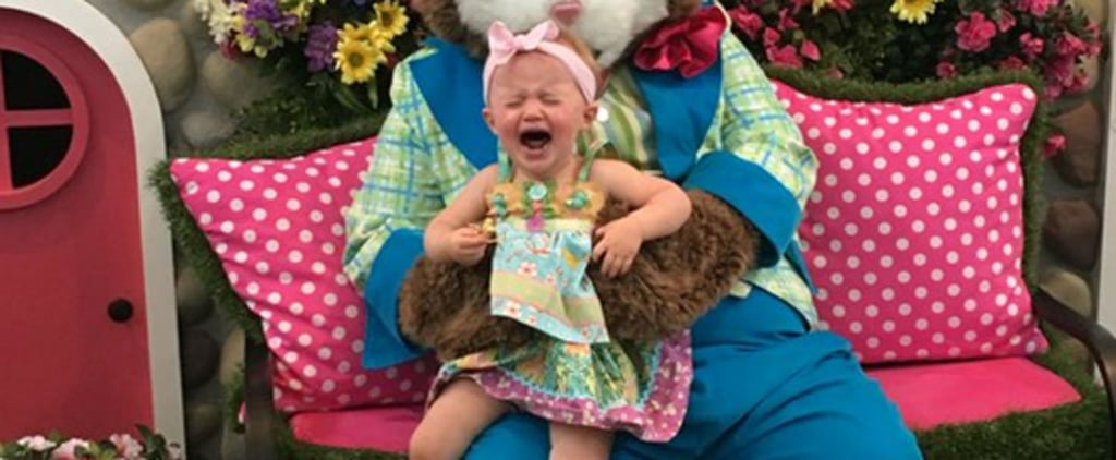 Kelly Clarkson's Daughter Meets the Easter Bunny, All Hell Breaks Loose