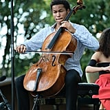 POPSUGAR: This is your first time in the US. What do you think of Napa Valley so far? Sheku Kanneh-Mason: I've really loved being here. It's such a beautiful part of America, just the scene, the food, and the wine. It's nice to be somewhere sunny since I live in London, where that rarely happens. PS: In addition to tonight's performance, you previously performed at the Napa Valley College Performing Arts Center. How did you get involved with Festival Napa Valley?  SKM: About a year ago, I was asked to play, and I, of course, looked up the place and the festival and was really excited to come here. It's a great fit with what I'm doing now, and I'm glad it worked out. PS: You've been playing the cello since you were 6. What was it about the cello that attracted you? SKM: When I first heard a whole orchestra playing, I was particularly attracted to the sound of the cello, and I just wanted to play. I've always enjoyed the sound of it, and at first, it was just a hobby. As I got older, I grew to love it more, and it became something I wanted to do for the rest of my life. I'm very lucky to be able to do the thing I love.
