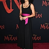 صوفيا وايلي في العرض العالمي الأول لفيلم مولان في لوس أنجلوس