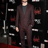 Daniel Radcliffe hit the red carpet at the premiere of Horns in LA on Thursday.