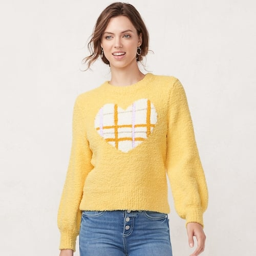 Women's LC Lauren Conrad Blouson-Sleeve Sweater