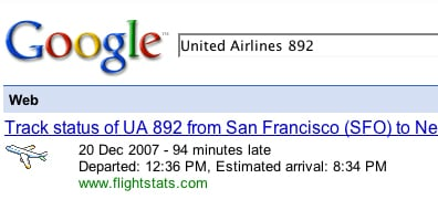 Google Your Flight